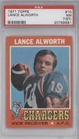 Lance Alworth [PSA 7 (ST)]
