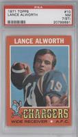 Lance Alworth [PSA7(ST)]