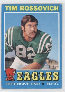 1971 Topps #116 - Tim Rossovich