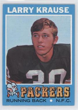 1971 Topps #12 - Larry Krause