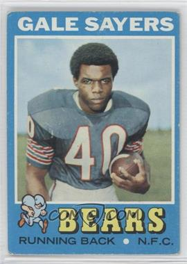 1971 Topps #150 - Gale Sayers [Good to VG‑EX]
