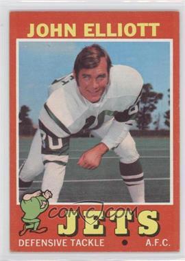 1971 Topps #153 - John Elliott