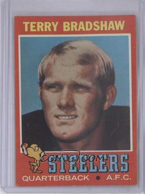 1971 Topps #156 - Terry Bradshaw [Good to VG‑EX]