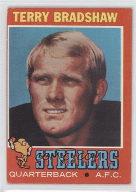 1971 Topps #156 - Terry Bradshaw [GoodtoVG‑EX]