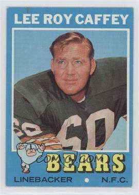1971 Topps #203 - Lee Roy Caffey