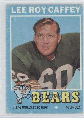 1971 Topps #203 - Lee Roy Caffey [PoortoFair]