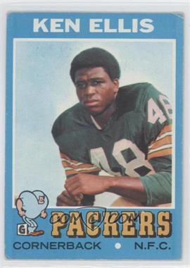 1971 Topps #224 - Ken Ellis [GoodtoVG‑EX]