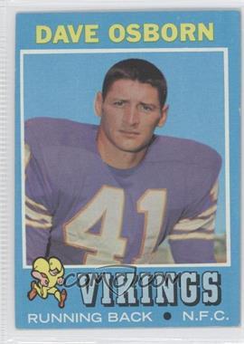 1971 Topps #225 - Dave Osborn