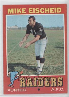 1971 Topps #231 - Mike Eischeid