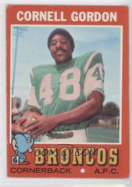 1971 Topps #256 - Cornell Gordon