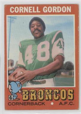 1971 Topps #256 - Cornell Gordon [PoortoFair]