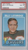 Billy Lothridge [PSA 8]