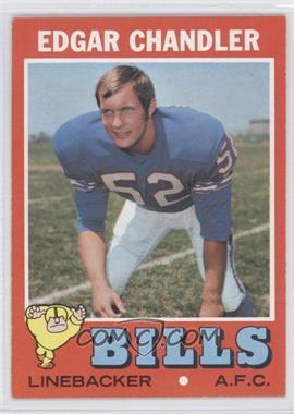 1971 Topps #86 - Edgar Chandler