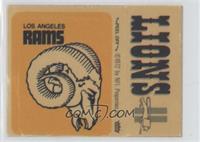 Los Angeles Rams, Detroit Lions [PoortoFair]