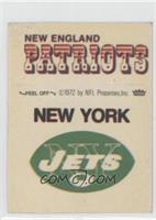 New York Jets Logo, New England Patriots