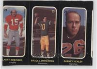 Larry Robinson, Bruce Lemmerman, Garney Henley [GoodtoVG‑EX]