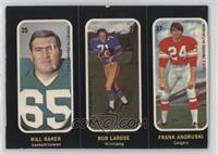 Bill Baker, Bob LaRose, Frank Andruski [GoodtoVG‑EX]