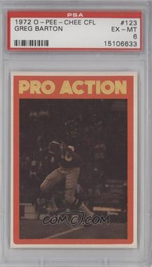 1972 O-Pee-Chee Canadian Football League #123 - [Missing] [PSA 6]