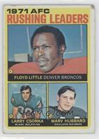Floyd Little, Larry Csonka