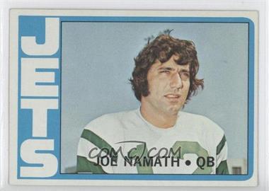 1972 Topps #100 - Joe Namath