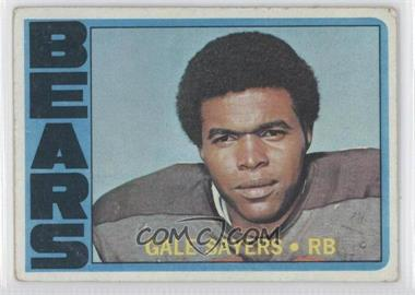 1972 Topps #110 - Gale Sayers [Good to VG‑EX]