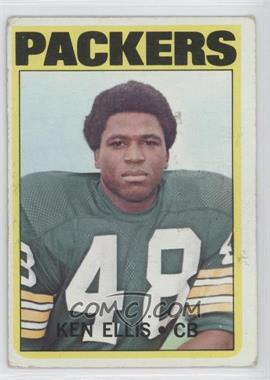1972 Topps #12 - Ken Ellis [GoodtoVG‑EX]