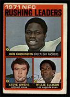 Steve Owens, Willie Ellison, John Brockington [GOOD]