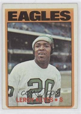 1972 Topps #201 - Leroy Keyes