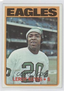 1972 Topps #201 - Leroy Keyes [GoodtoVG‑EX]