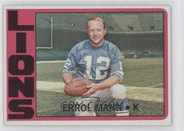 1972 Topps #222 - Errol Mann