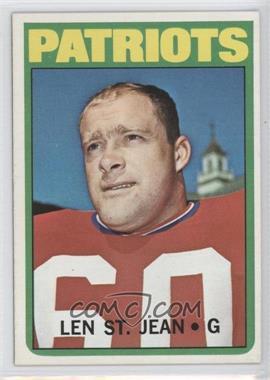1972 Topps #23 - Len St. Jean