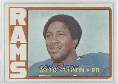 1972 Topps #62 - Willie Ellison
