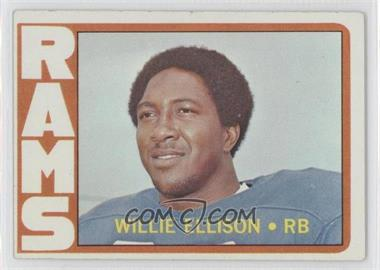 1972 Topps #62 - Willie Ellison [Good to VG‑EX]