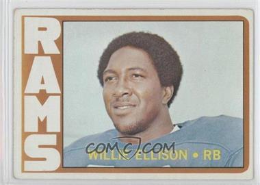 1972 Topps #62 - Willie Ellison [GoodtoVG‑EX]