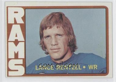 1972 Topps #81 - Lance Rentzel
