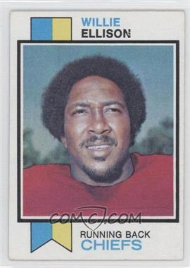 1973 Topps - [Base] #205 - Willie Ellison