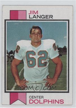 1973 Topps - [Base] #341 - Jim Langer [GoodtoVG‑EX]
