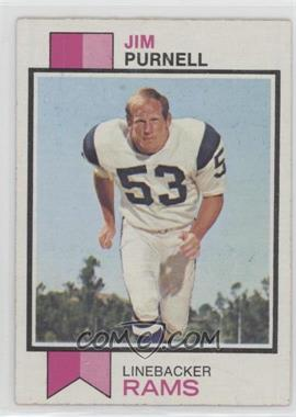 1973 Topps - [Base] #447 - Jim Purnell [Good to VG‑EX]