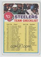 Pittsburgh Steelers [Good to VG‑EX]
