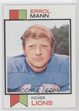 1973 Topps #117 - Errol Mann