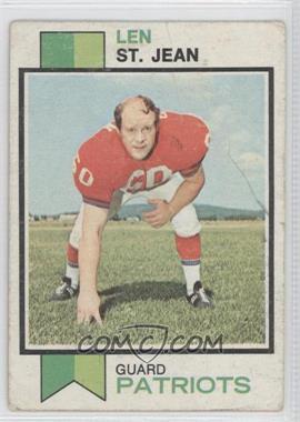 1973 Topps #168 - Leon Jenkins [Poor]