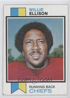 1973 Topps #205 - Willie Ellison [Good to VG‑EX]