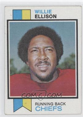 1973 Topps #205 - Willie Ellison