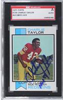 Charley Taylor [SGC AUTHENTIC AUTO]