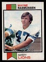 Wayne Rasmussen [EX]