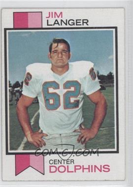 1973 Topps #341 - Jim Langer