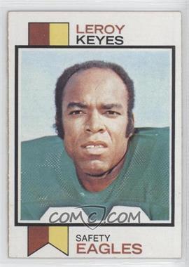 1973 Topps #508 - Leroy Keyes