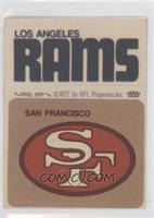 San Francisco 49ers Logo, Los Angeles Rams