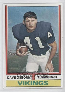 1974 Topps - [Base] #293 - Dave Osborn