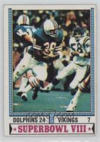 Super Bowl VIII (Larry Csonka) [Good to VG‑EX]